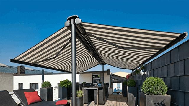 markise freistehend elektrische freistehende faltdach. Black Bedroom Furniture Sets. Home Design Ideas